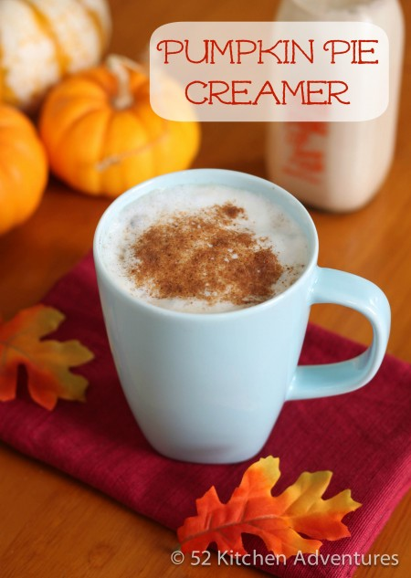 Recipe: Homemade pumpkin pie creamer