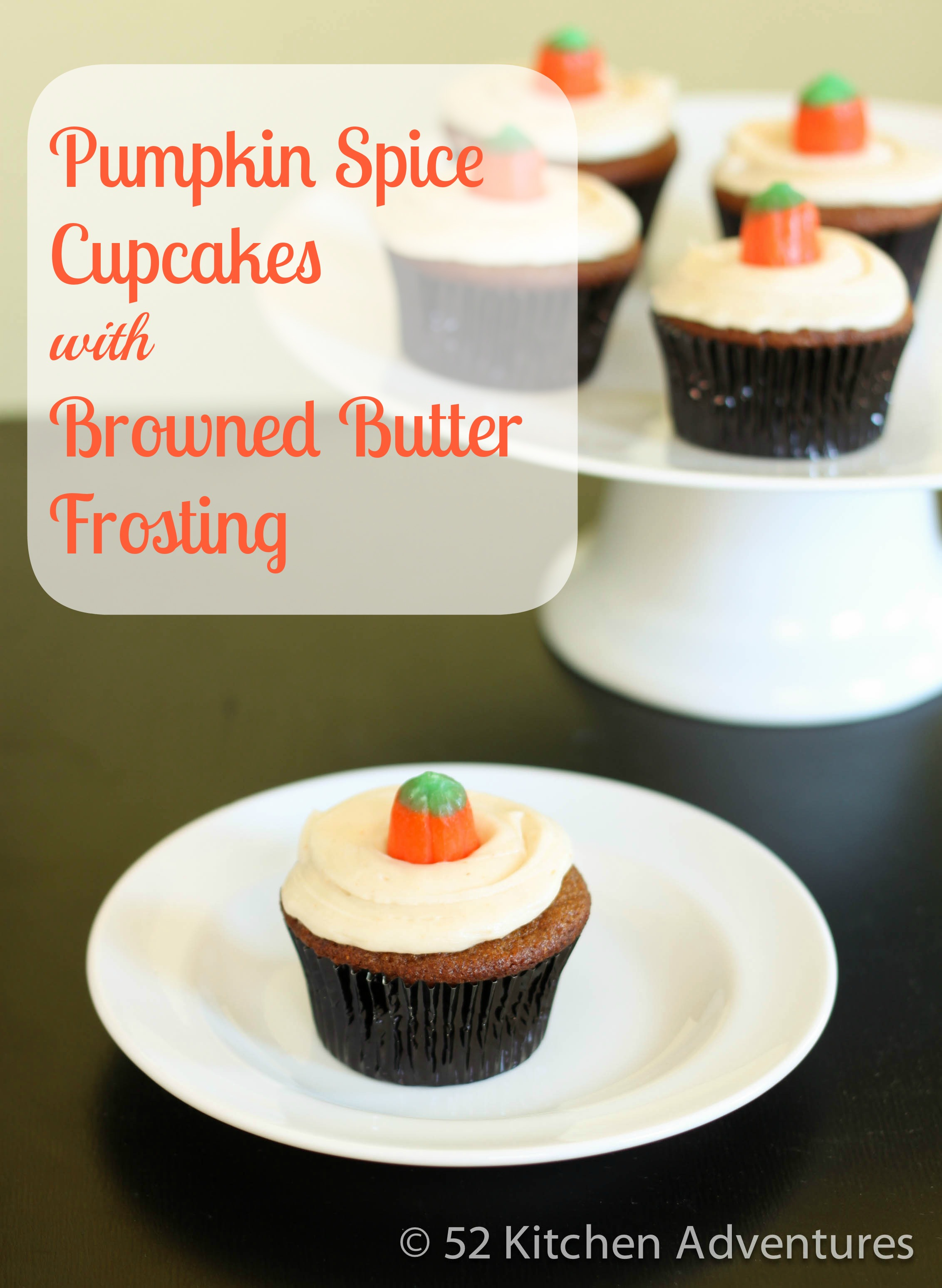 Recipe: Pumpkin spice cupcakes with browned butter frosting