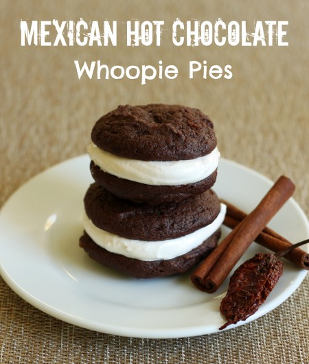 Recipe: Mexican hot chocolate whoopie pies