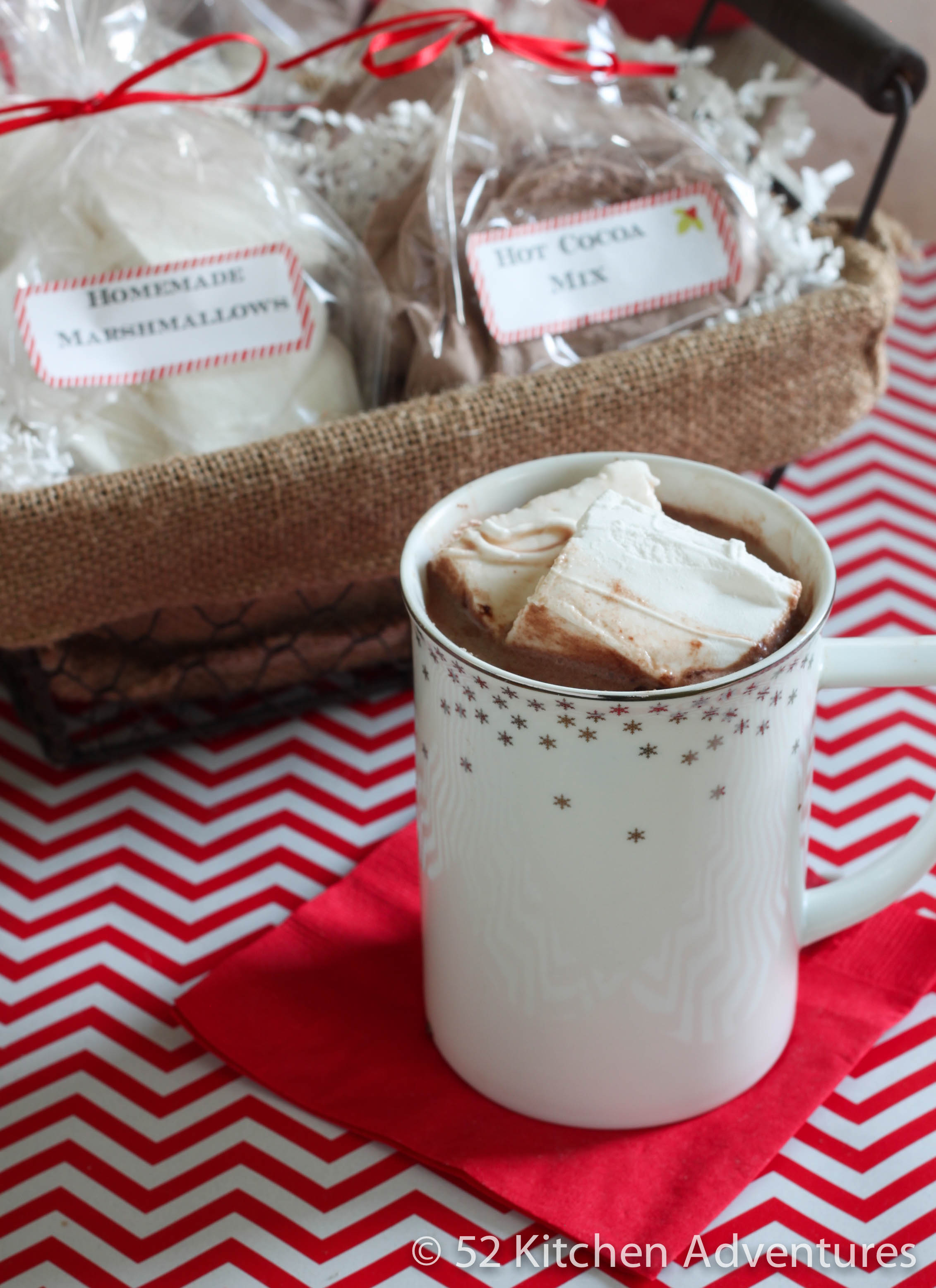 DIY Hot Cocoa Mix and Marshmallows
