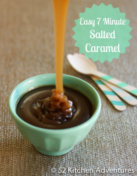 Recipe: Easy 7-minute salted caramel