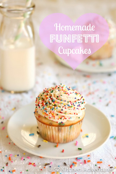Recipe: Homemade funfetti cupcakes