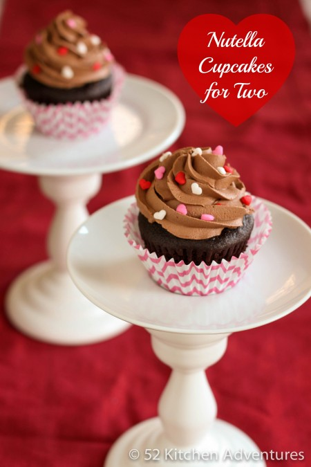 Recipe: Nutella cupcakes for two