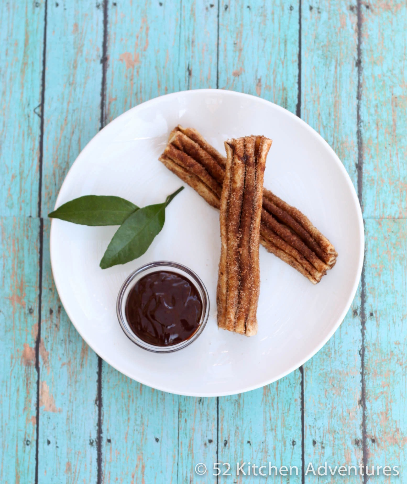 Faux Churros with Mexican Chocolate Sauce | 52 Kitchen Adventures