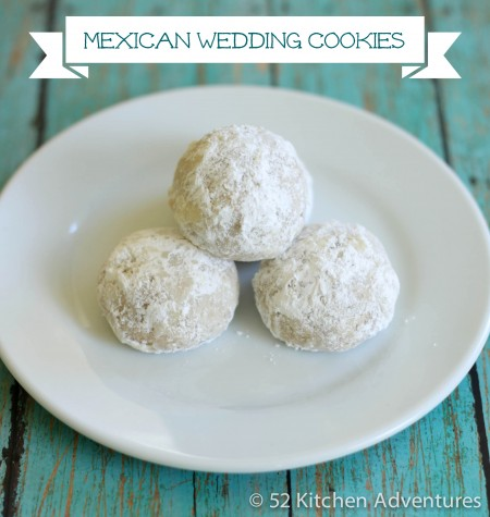 Recipe: Mexican wedding cookies