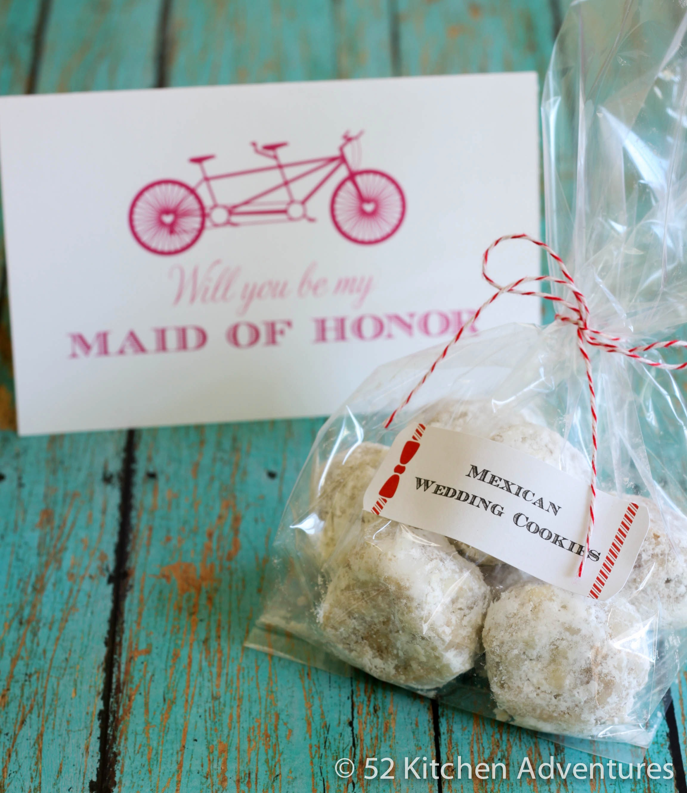 Mexican Wedding Cookies – Maid of Honor