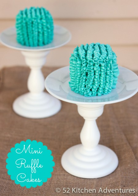 Recipe: Mini ruffle cakes