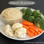 Ranch Hummus