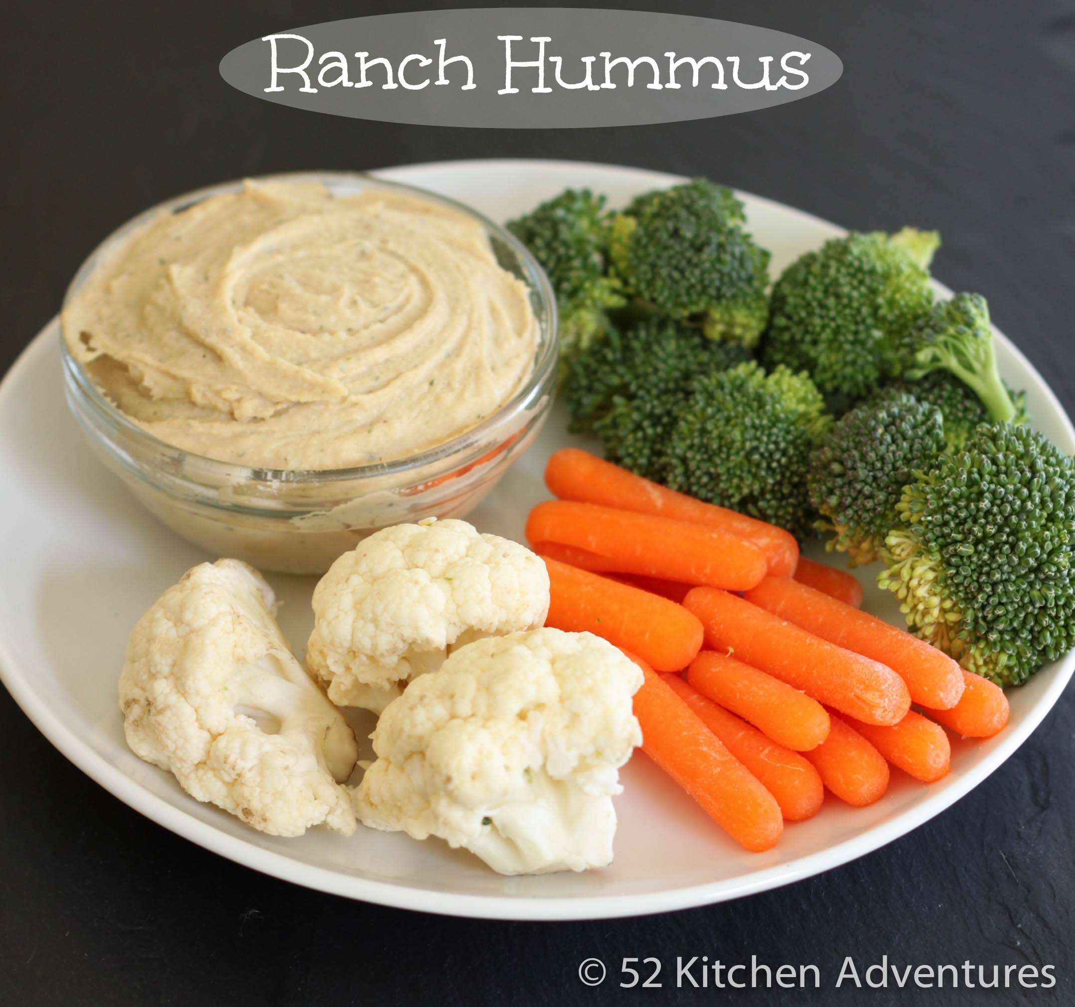 Recipe: Ranch hummus