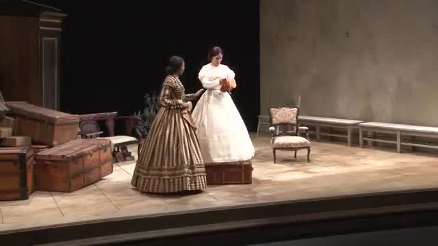 VIDEO: Mary T. &amp; Lizzy K. at Arena Stage