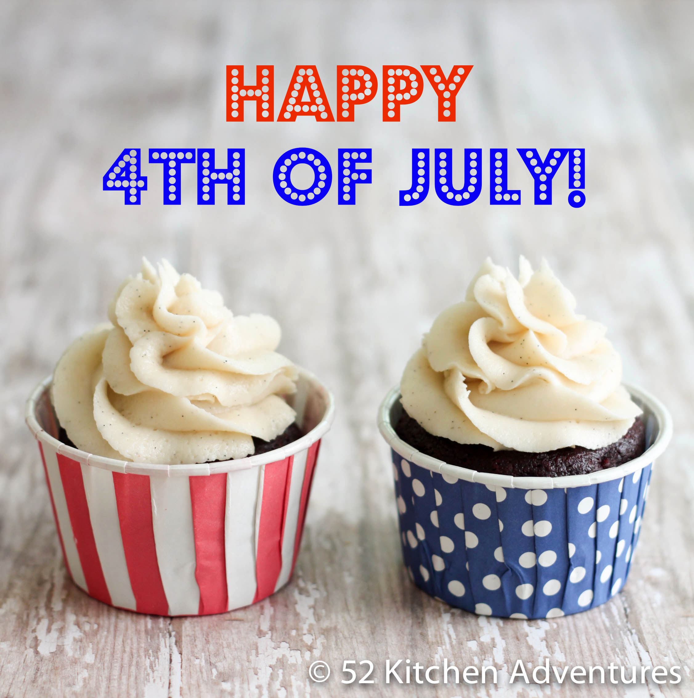 Happy 4th of July Cupcakes