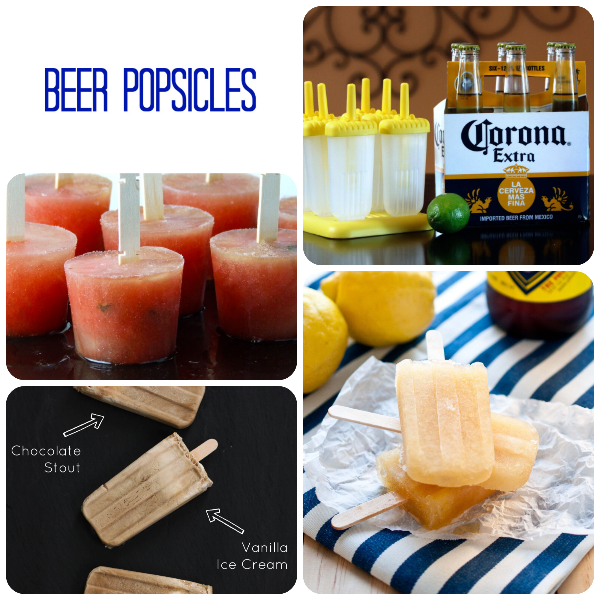 Beer popsicles