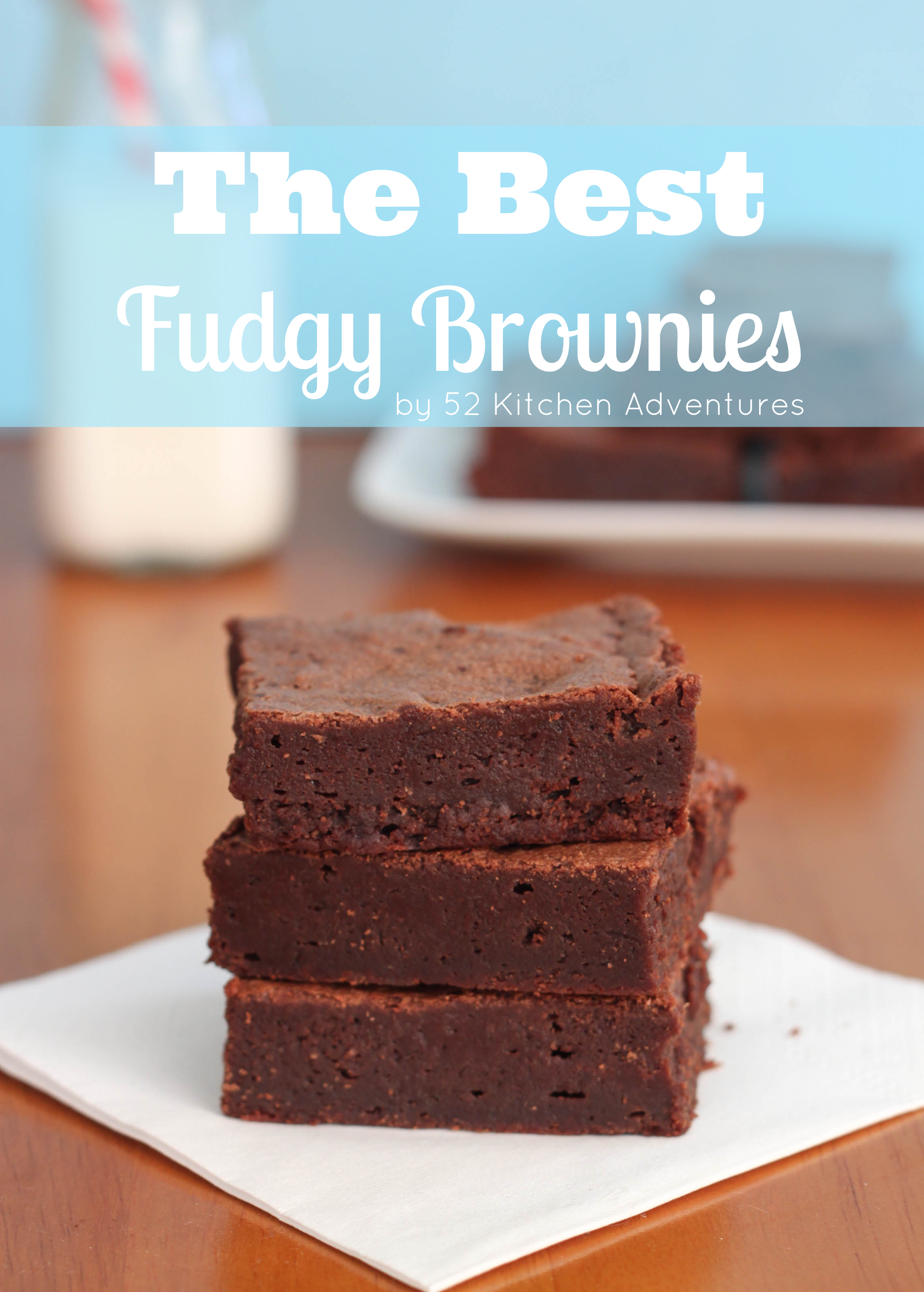 how to make brownies more fudgy