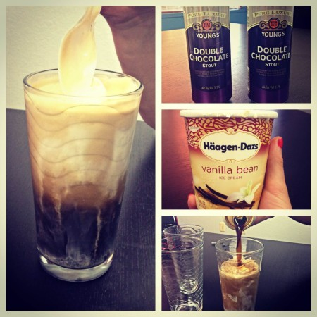 Stout Beer Float Popsicles