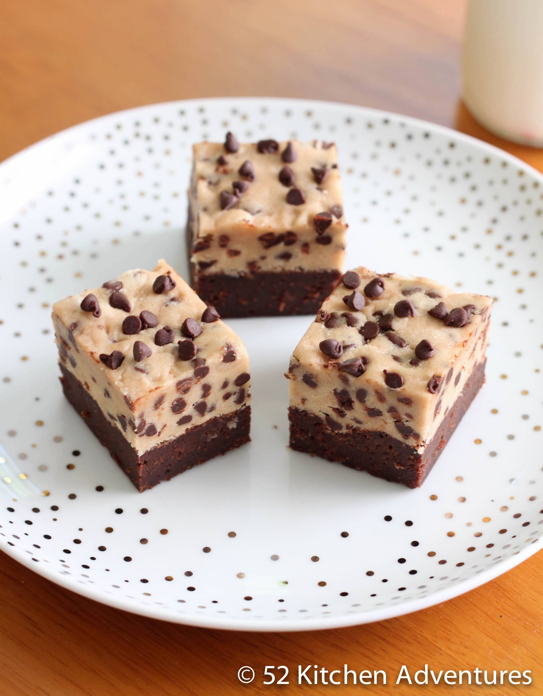 Cookie Dough Brownie Bars