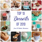 Top 13 Desserts of 2013