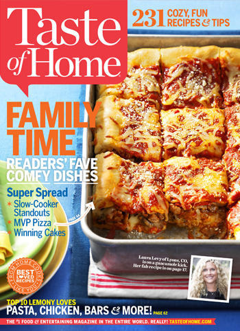Taste of Home February 2014 Cover