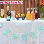 How to Make a Mimosa Bar in 3 Steps
