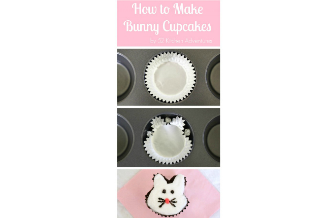 bunny shaped cupcake featured