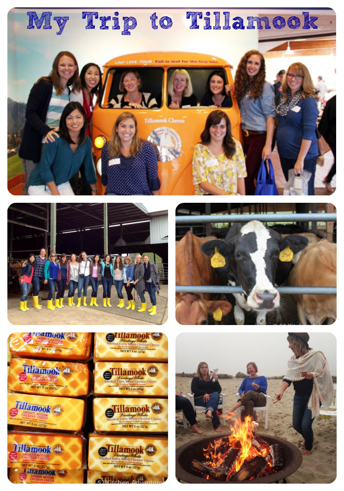 Tillamook Trip Collage