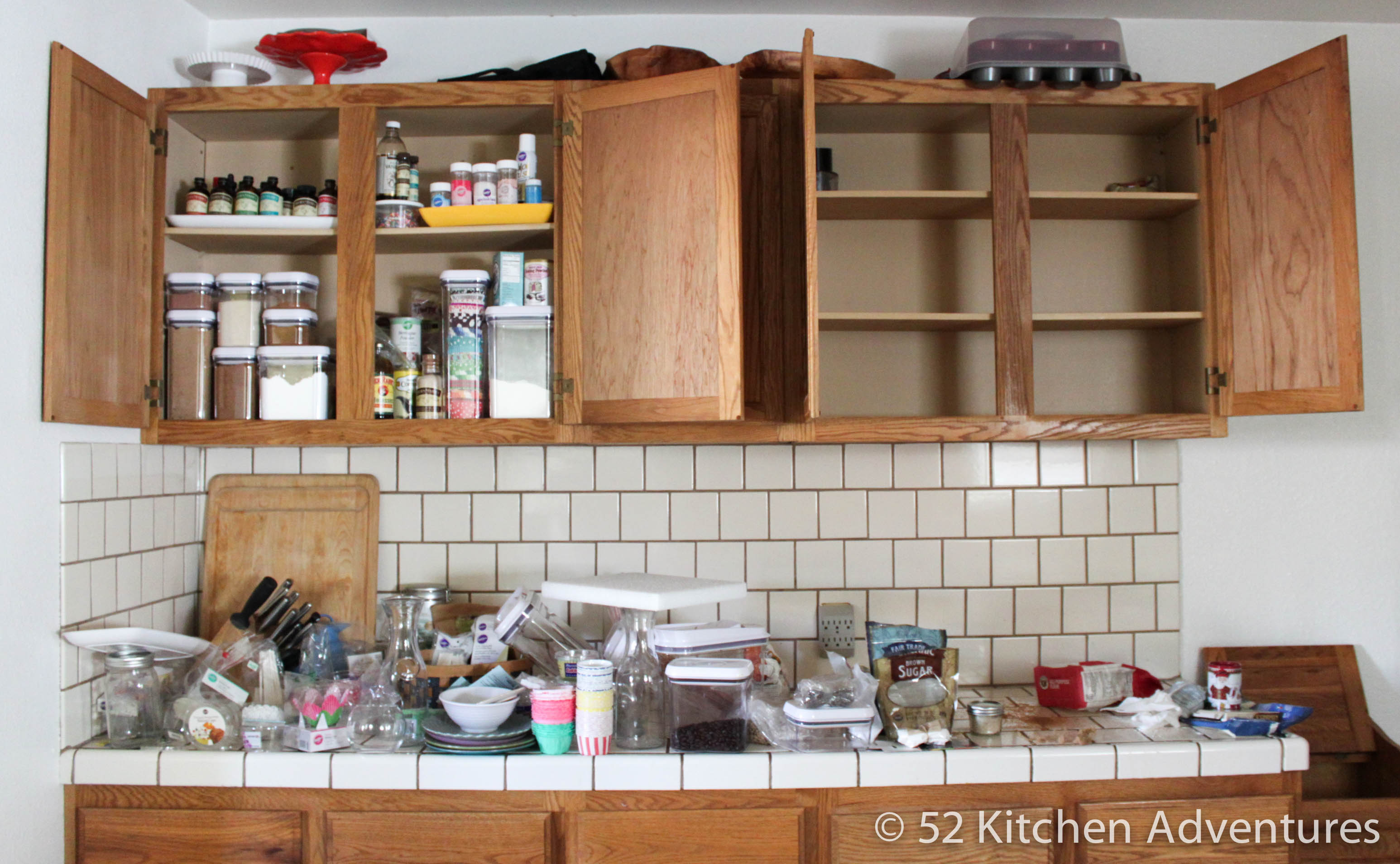 Ways To Organize Your Baking Supplies - Best way to organize kitchen cabinets