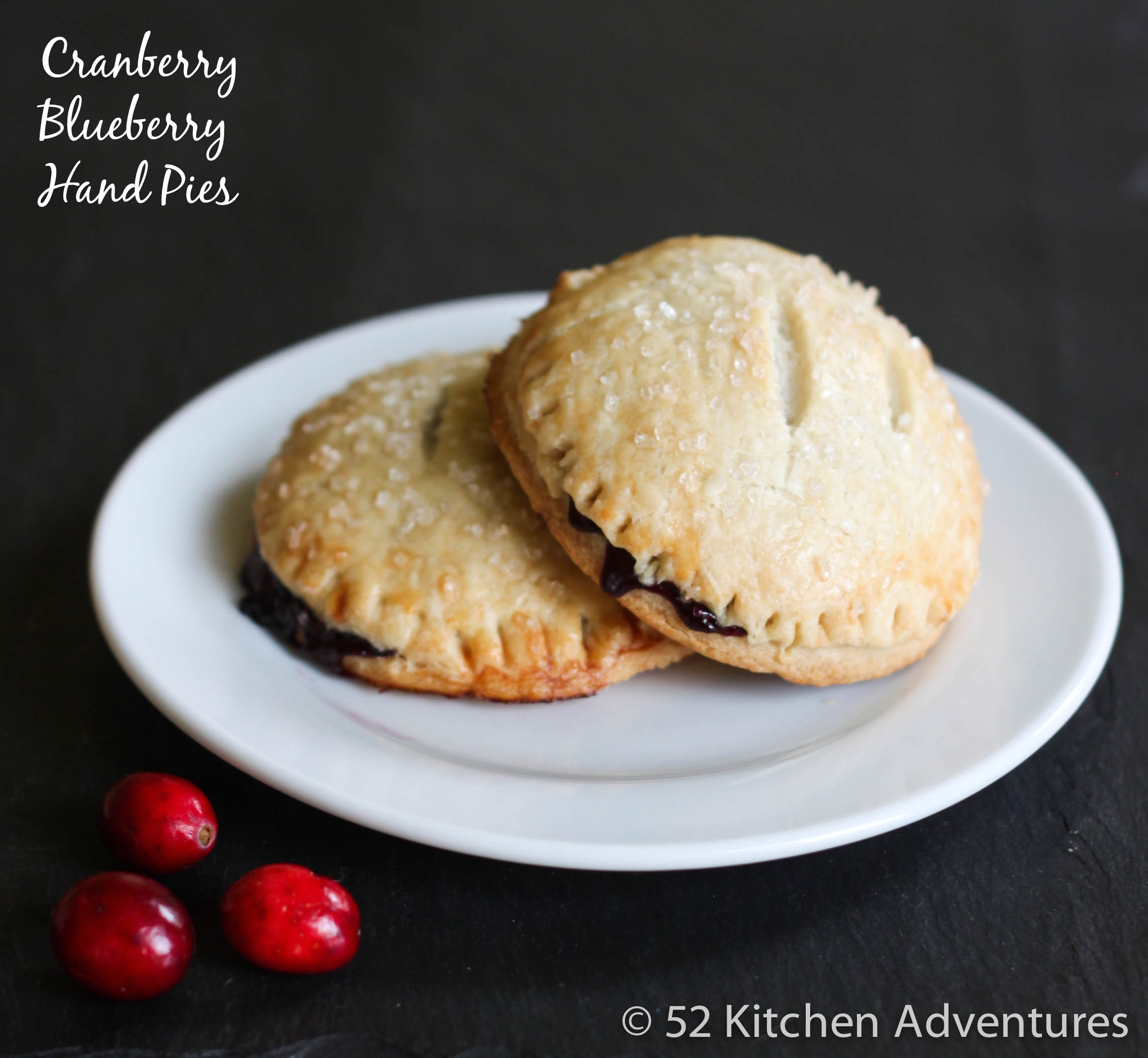 Cranberry Blueberry Hand Pies