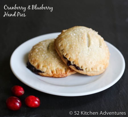 Cranberry & Blueberry Hand Pies