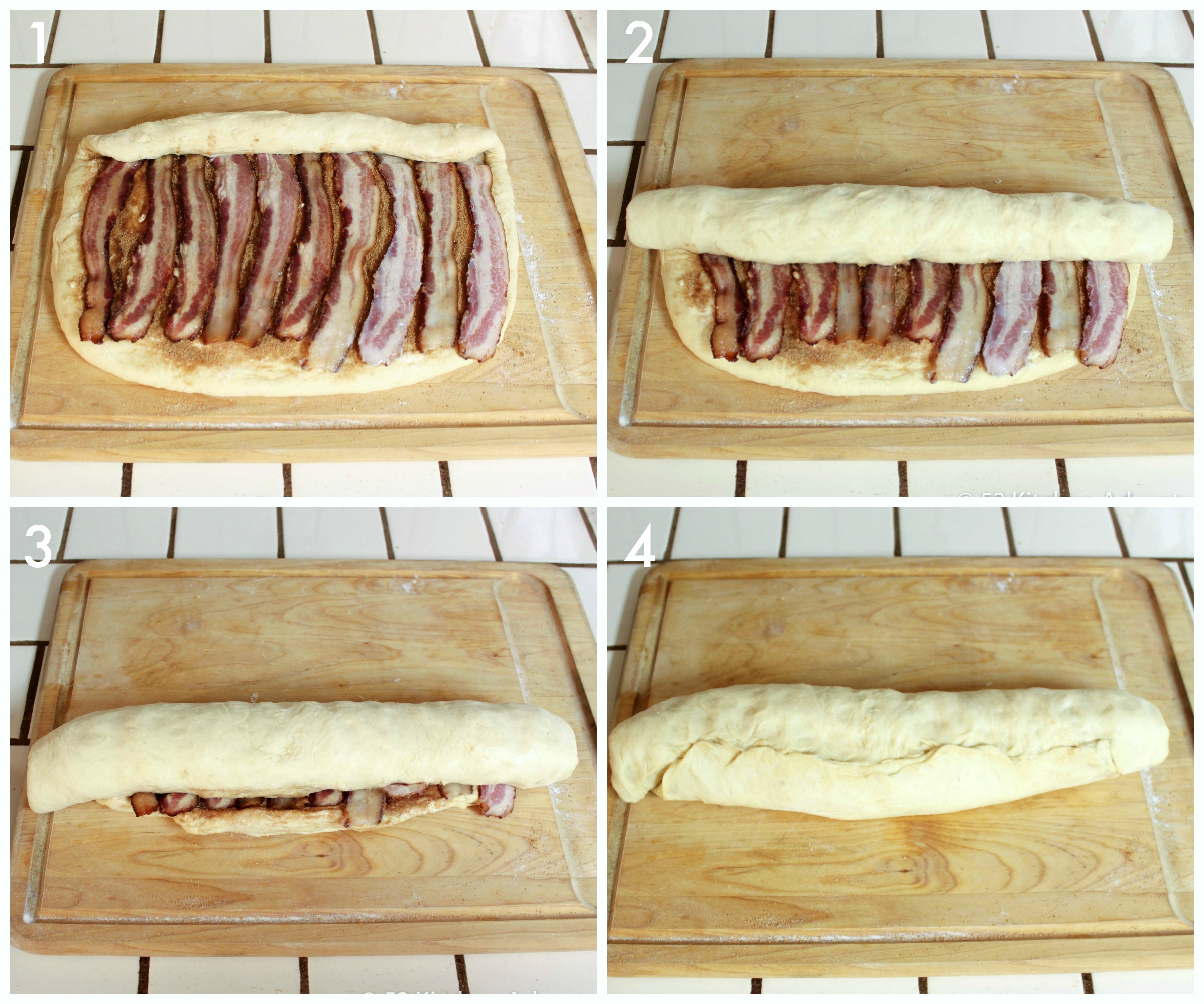 How to make Maple Bacon Cinnamon Rolls