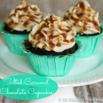 Salted Caramel Chocolate Cupcakes