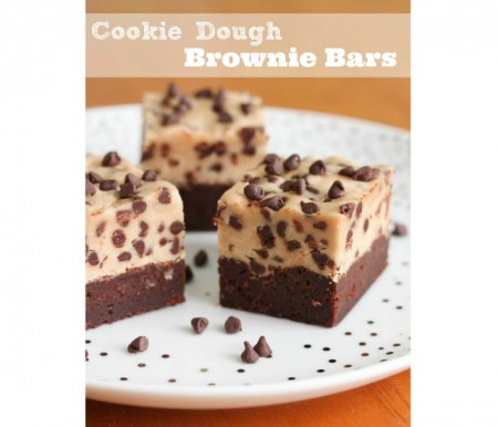 Cooke dough brownie bars 550