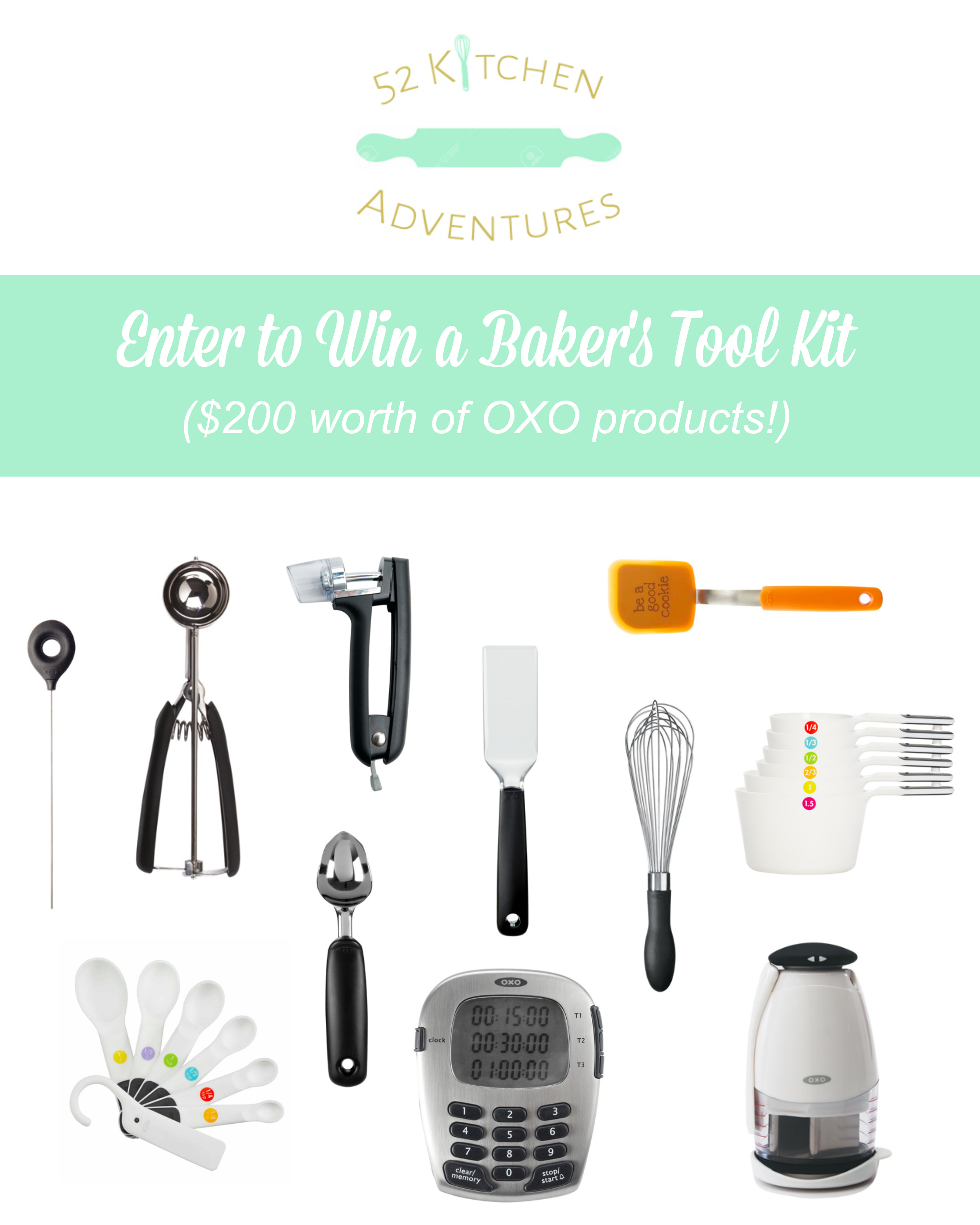 Enter to Win Baker's Tool Kit
