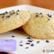 Week 19: Lavender Lemon Sugar Cookies