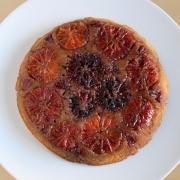 Blood Orange & Cardamom Upside Down Cake