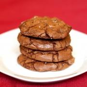 Gluten Free Molten Chocolate Chip Cookies