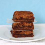Nutella & Peanut Butter Swirl Brownies