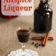 Homemade Allspice Liqueur