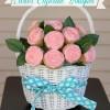 Easter Basket Cupcake Bouquet