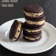DIY Cookie Dough Oreos