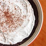 Chocolate Coconut Chia Mousse Pie {Vegan & Grain Free}