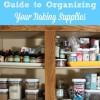 5 Ways to Organize Your Baking Supplies {Free Printable}