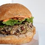 Mushroom Burgers with Chipotle Mayo