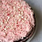 Flourless Chocolate Peppermint Cake