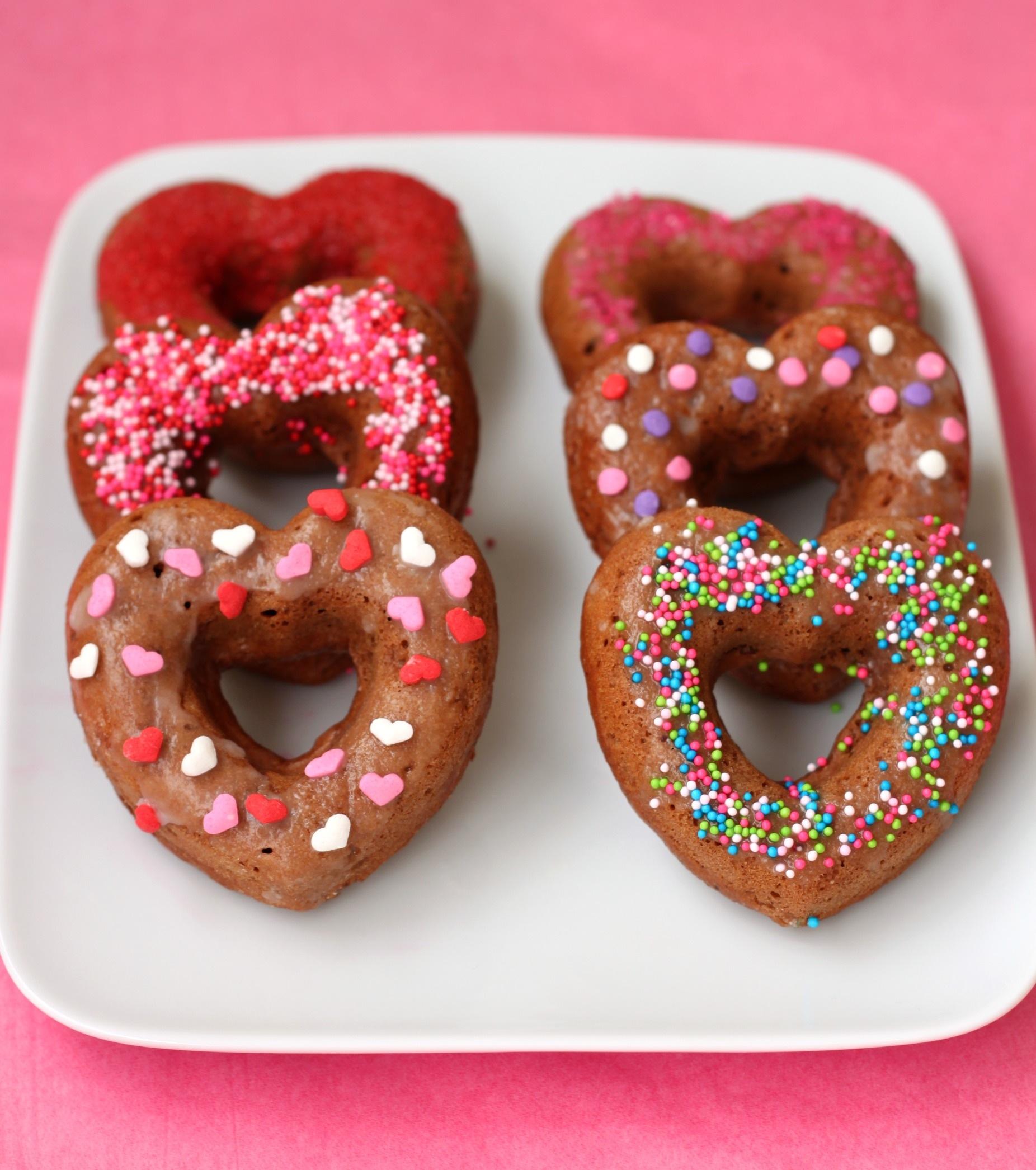 Heart healthy chocolate donut 6