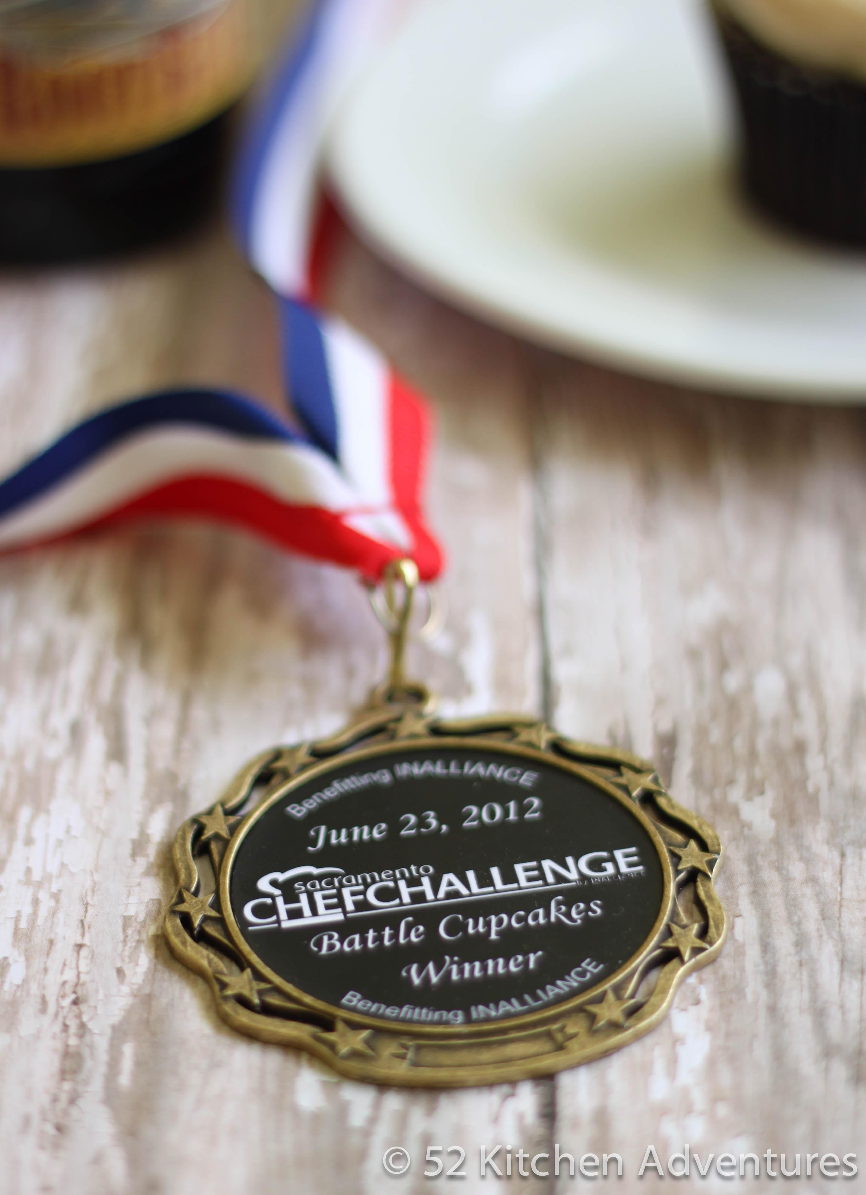 Battle Cupcake Gold Medal