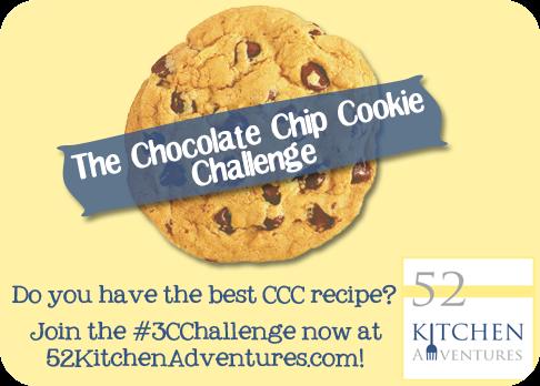 The Chocolate Chip Cookie Challenge #3cchallenge