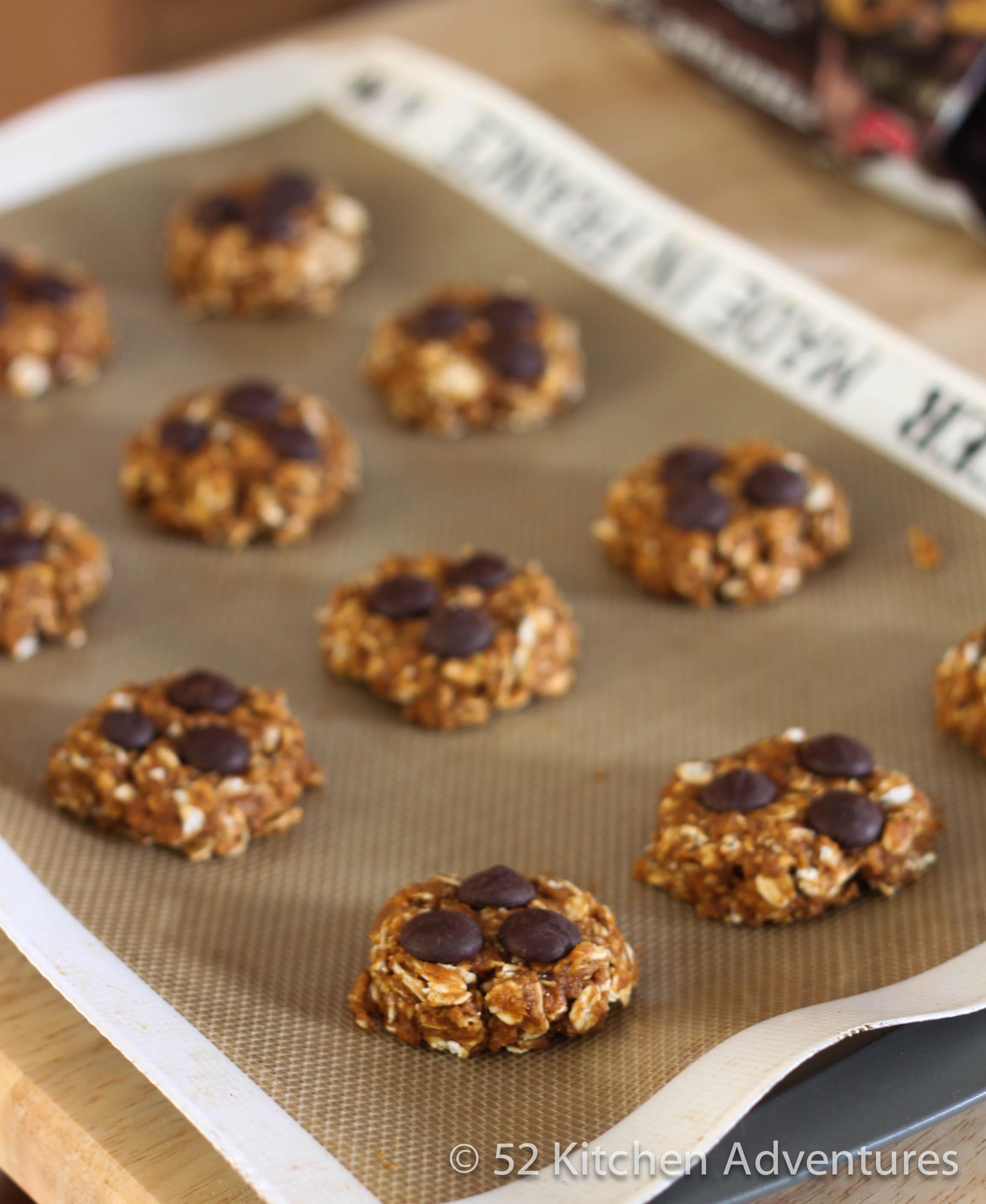 Low fat pumpkin oatmeal cookies
