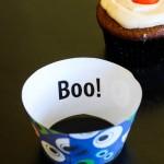 DIY Halloween Cupcake Wrappers