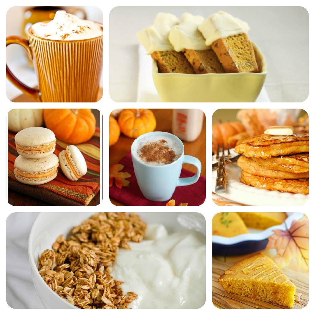 Recipes that use a little pumpkin