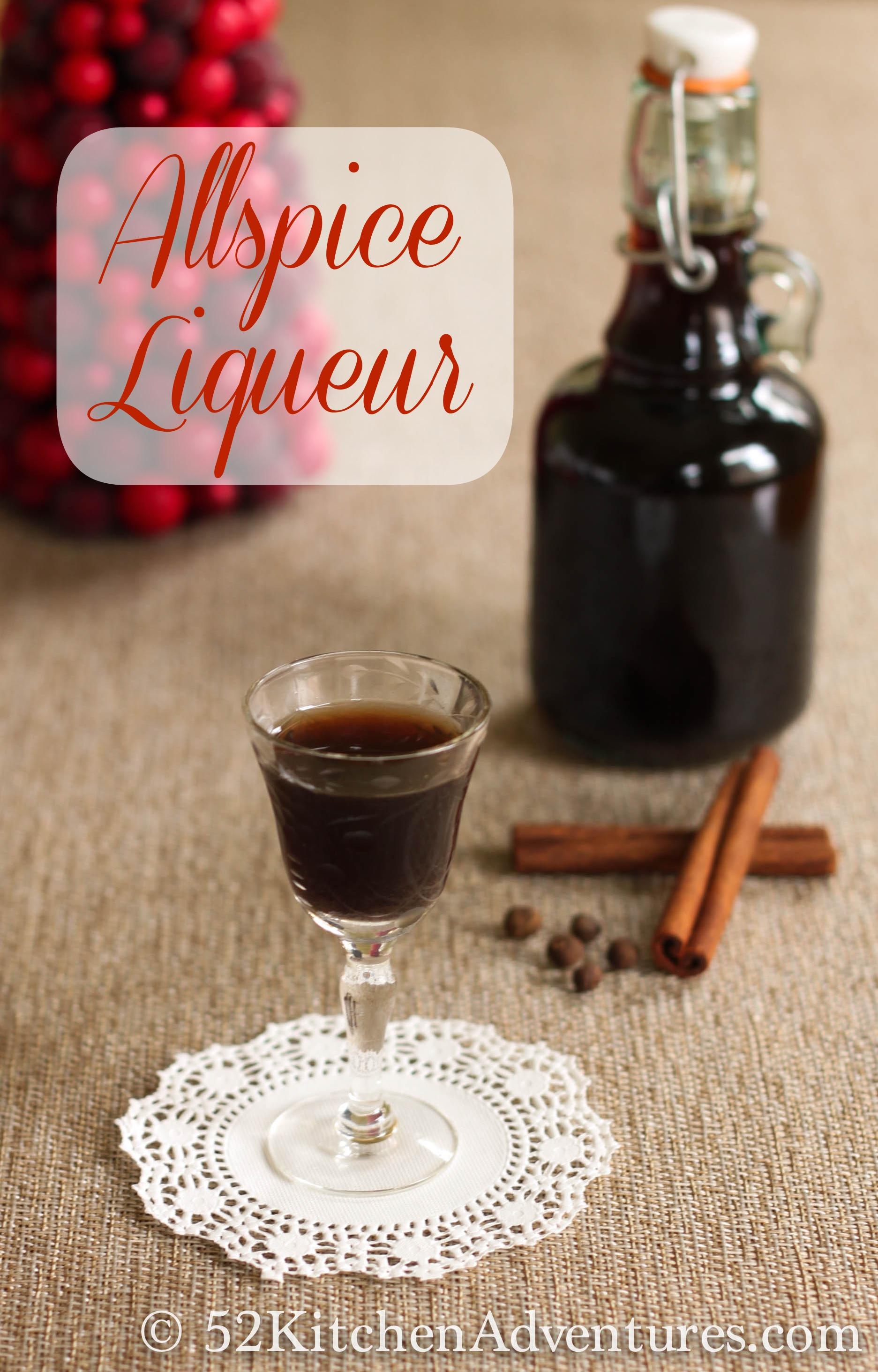 Allspice liqueur