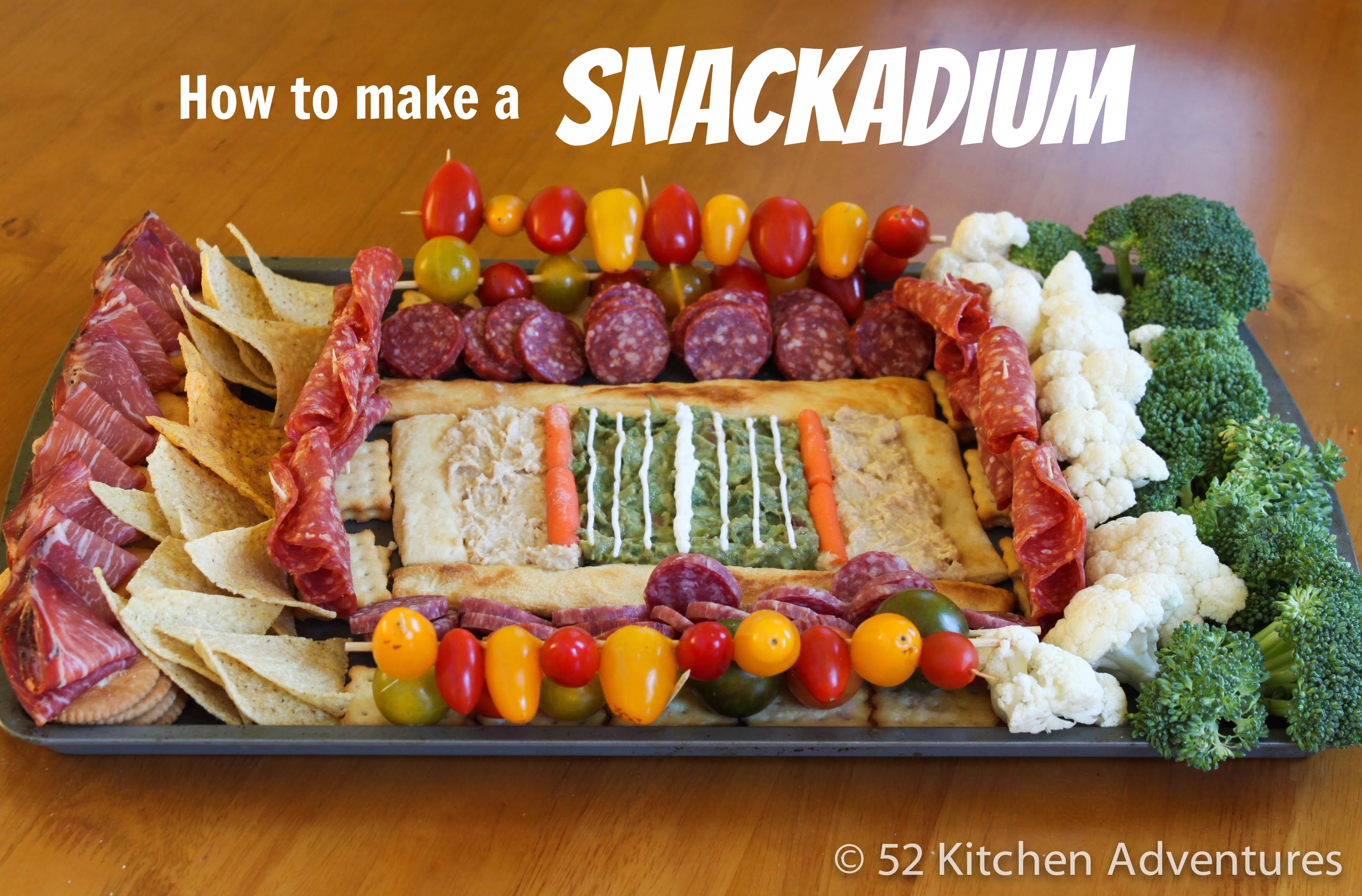 How to make a snackadium